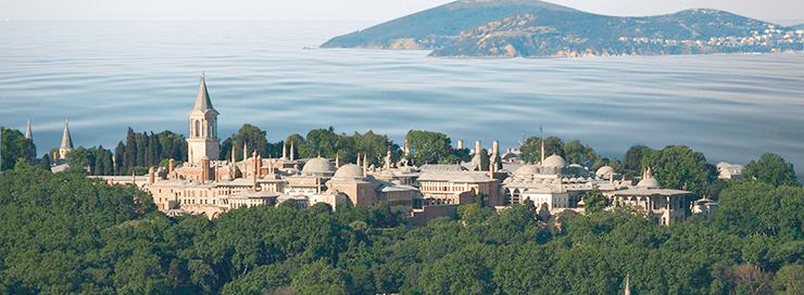 Фото дворца Топкапы в Стамбуле