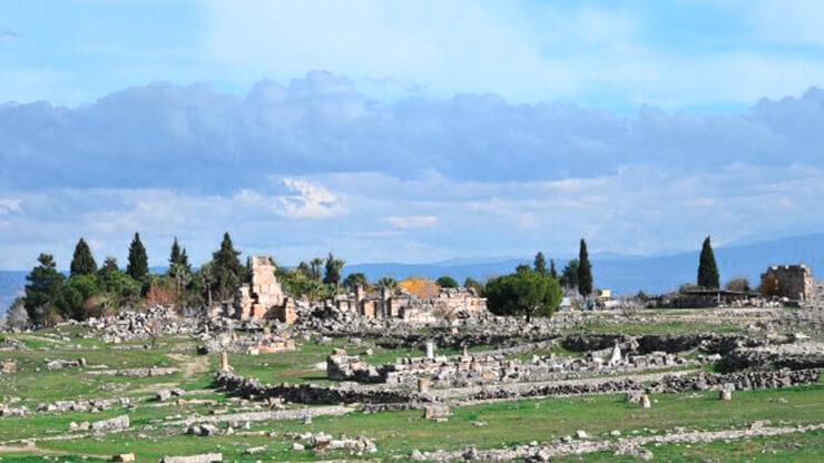 Иераполис Памуккале фото
