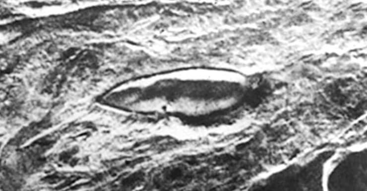 Фото с космоса горы Арарат