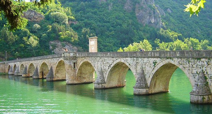 Вышеградский мост фото