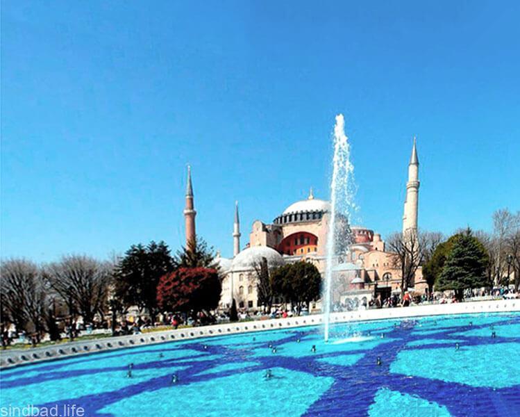 Фото музея Айя-София в Стамбуле фото