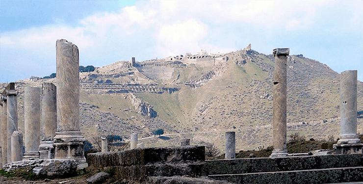 Библиотека в Пергамоне