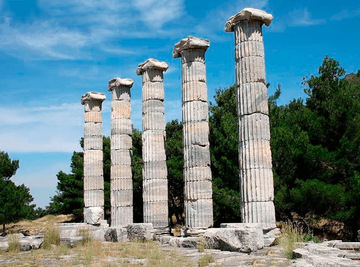 Храм Афины в Пергамоне