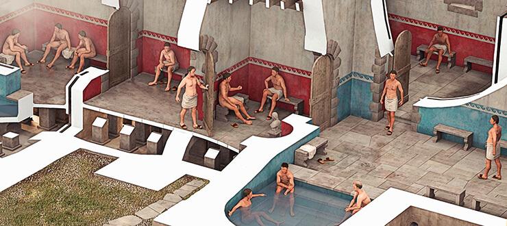 Фото римских бань