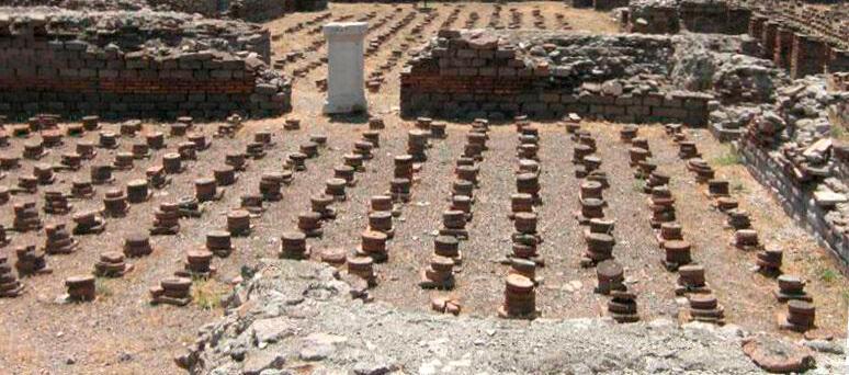Анкара римские бани
