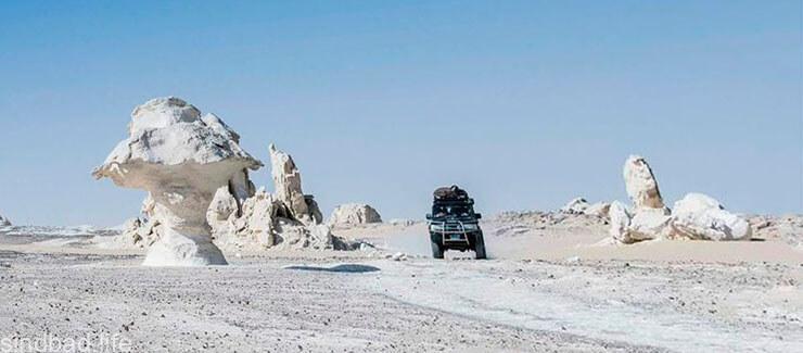 Фото египетской белой пустыни