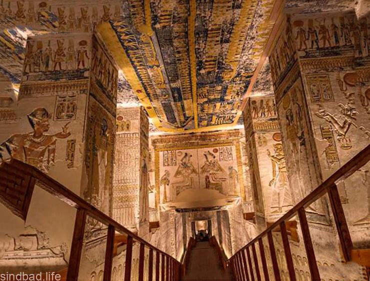Гробница Тутанхамону фото