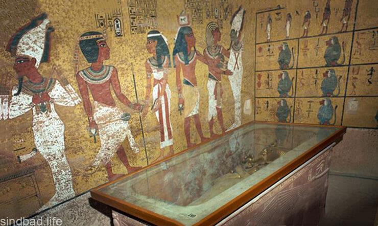 Фото гробницы Тутанхамона