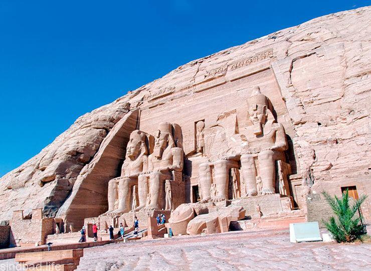 Абу-Симбел храм Рамзеса II