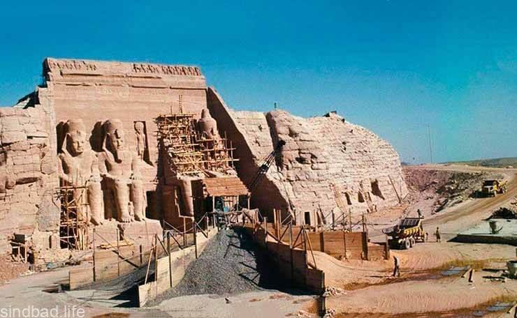 Перенос храма Рамзеса II