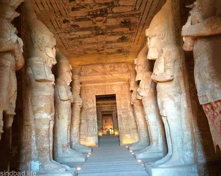 Фото храма Рамзеса II в Абу-Симбеле