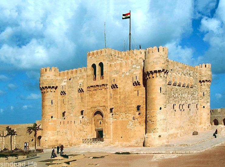 Картинка с крепостью Кайт-Бей в Александрии
