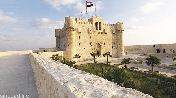 Крепость Кайт-Бей в Александрии фото