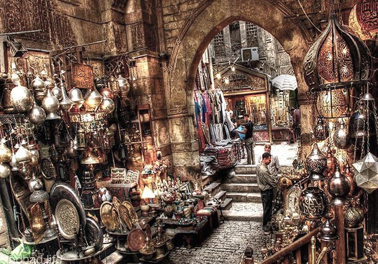 Рынок Хан аль-Халили фото
