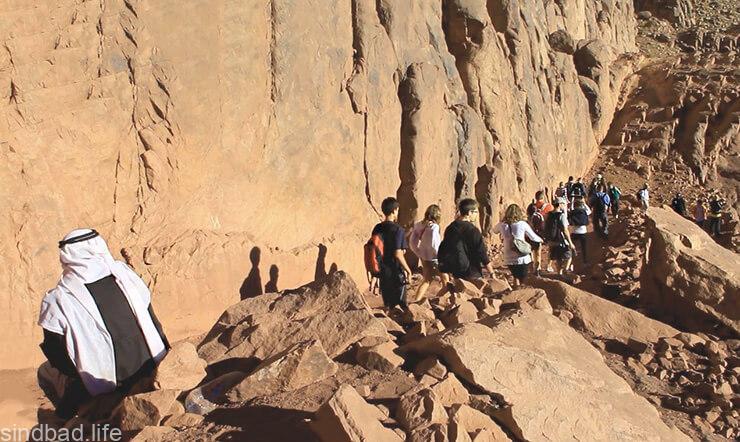 Восхождение на гору Синай
