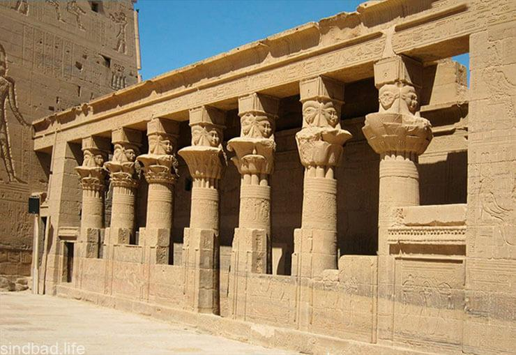 Фото храма бога Гора
