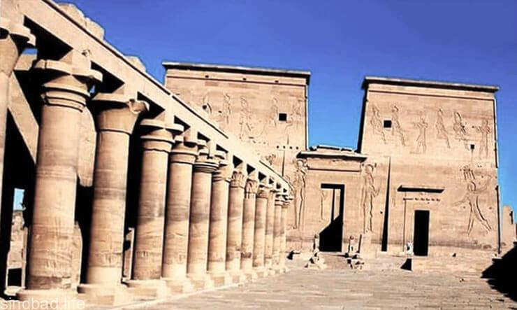 Храма бога Гора фото