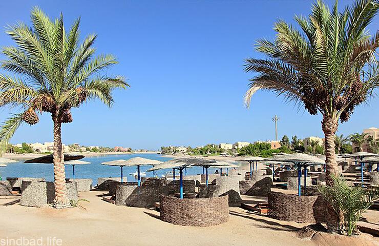 Пляж в Марса-эль-Алам
