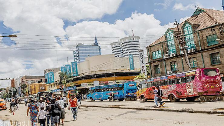 Столица Кении Найроби фото