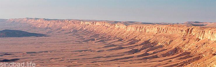 Фото кратера Рамона