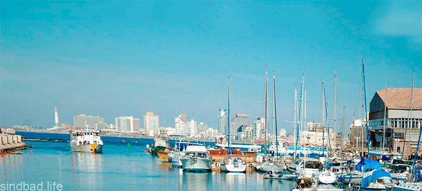Фото яффского порта