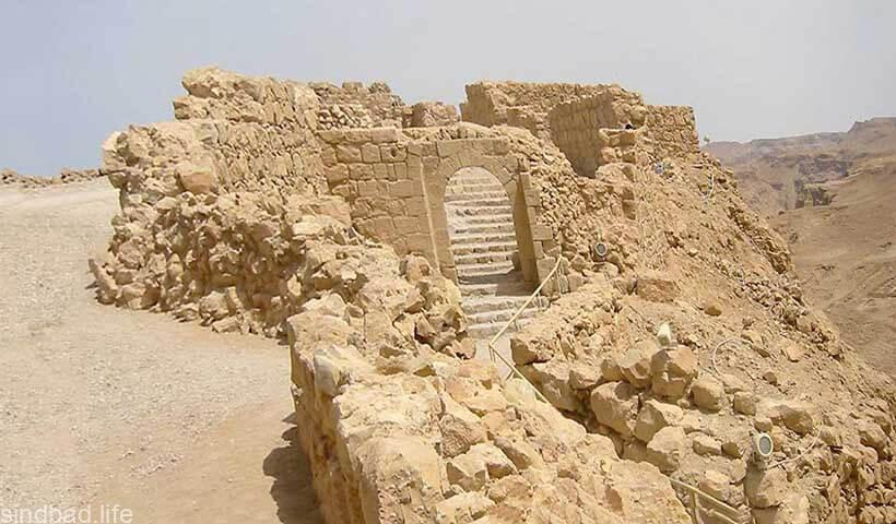 Архитектура древней крепости Масада