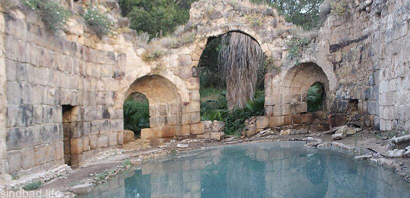 Руины Хамат-Гадера