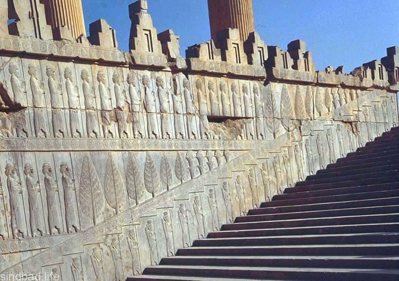 Лестница в Персеполье