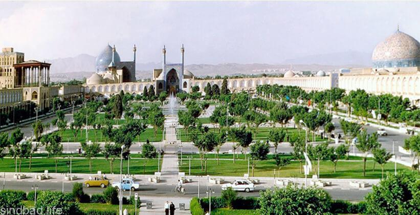 площадь Накш-э Джахан картинка
