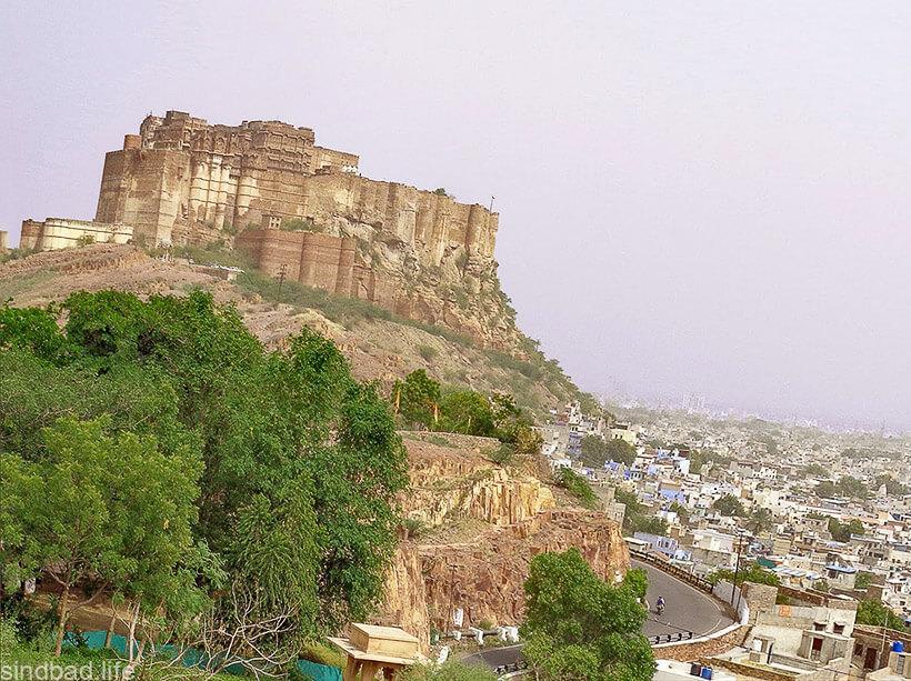 Крепость Мехрангарх фото