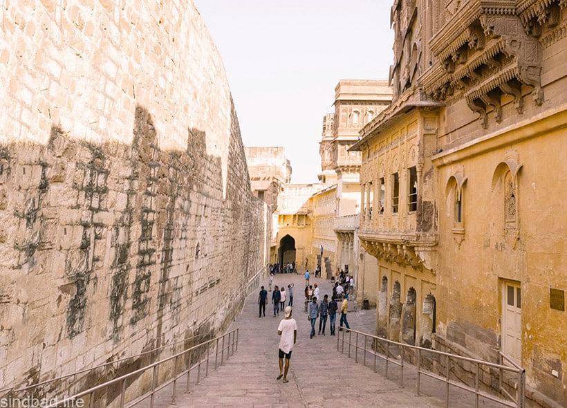 Фото Мехрангарх крепости