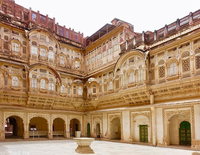 Мехрангарх крепость фото
