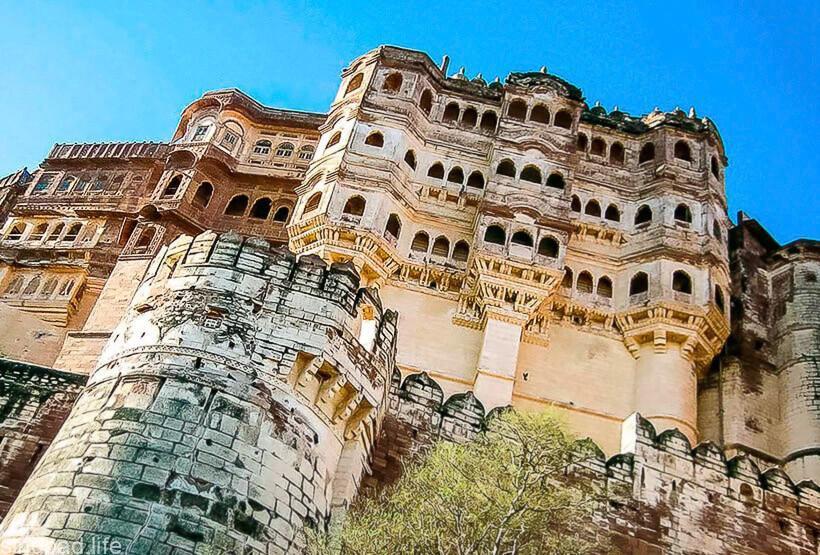 Фото крепости Мехрангарх