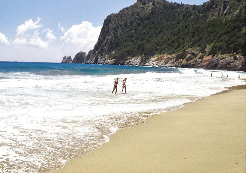 Пляж в Аланье