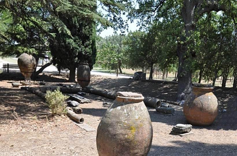 Сад пифосов в Трое