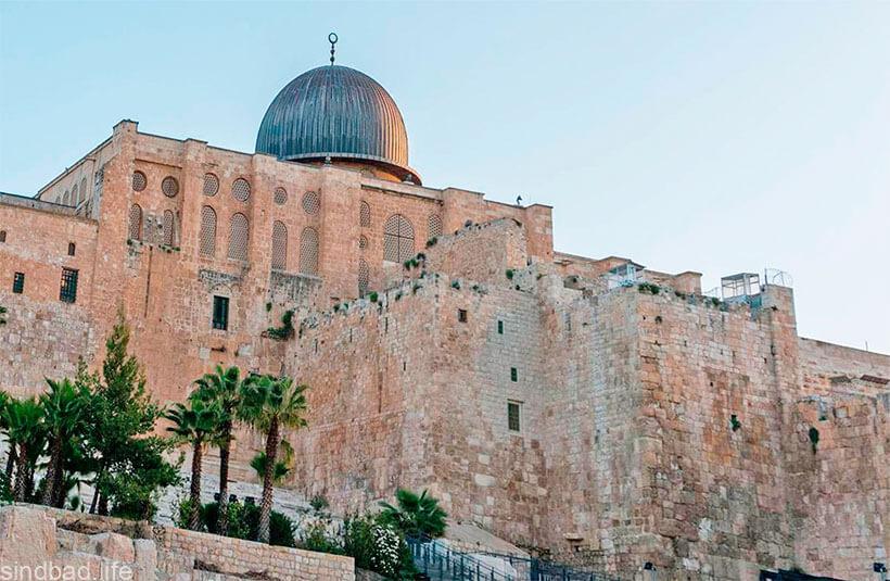 мечеть аль акса камень