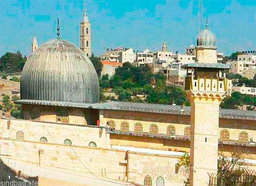 Мечеть аль-Акса в Иерусалиме фото