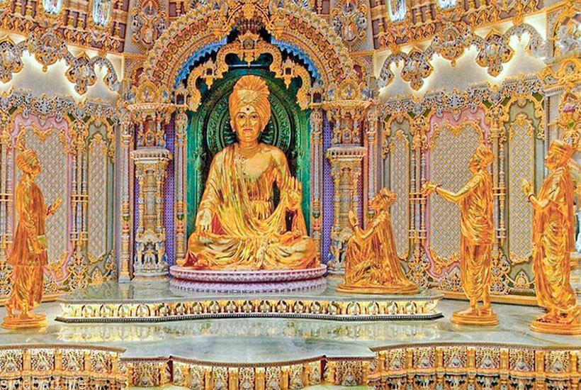 фото индуистского храма Акшардхам