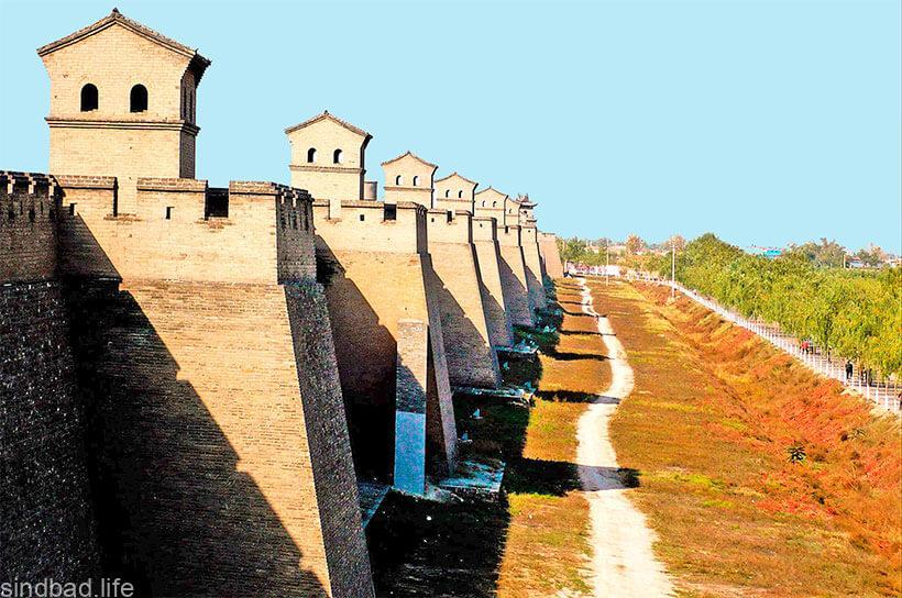 стены Пинъяо