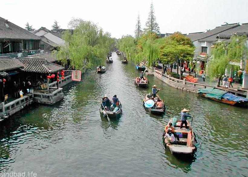 Город Чжоучжуан фото