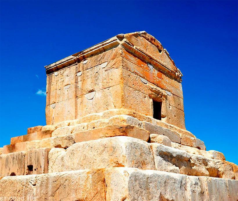 фото гробницы царя Кира