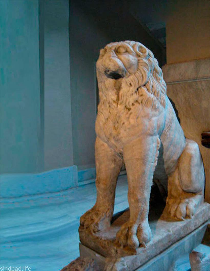 Лев из Дворца Буколеон