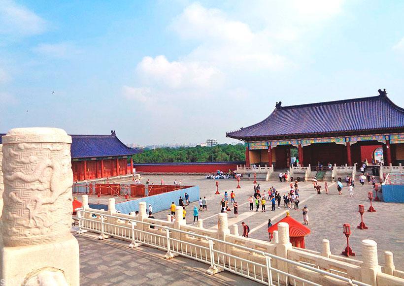 ансамбль храма неба в пекине