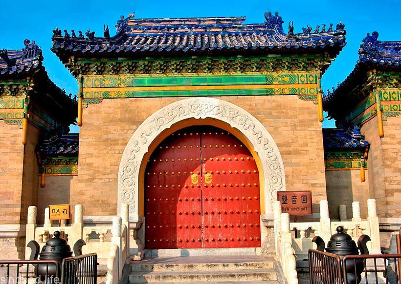 храм неба в пекине архитектура