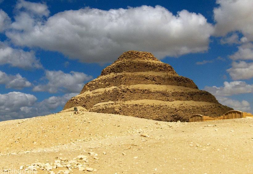 пирамида джосера интересные факты