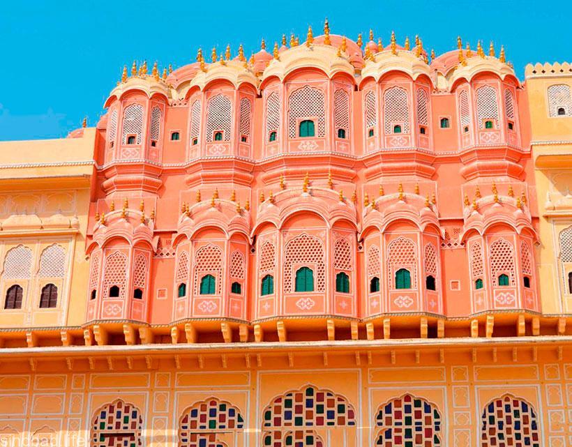Джайпур дворец Хава-Махал