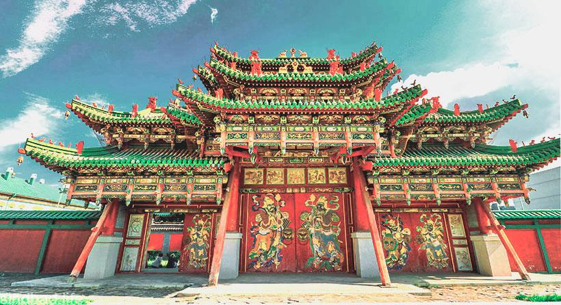 Дворец Богдо-гэгэна фото
