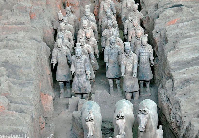 Цинь Шихуанди мавзолей