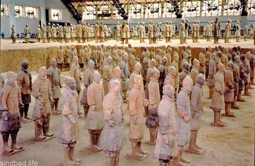 фото мавзолея Цинь Шихуанди