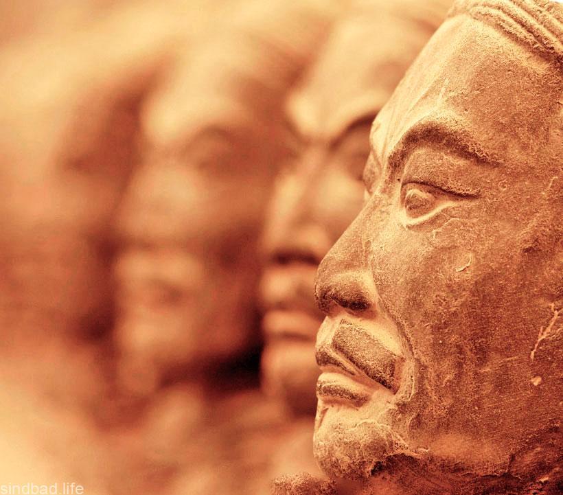 Мавзолей первого императора Цинь